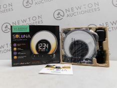 1 BOXED LA CROSSE TECHNOLOGY SOLUNA LIGHT ALARM CLOCK RRP £49.99