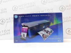 1 BOXED HP AMP 130 THREE-IN-ONE INKJET PRINTER WITH BLUETOOTH SPEAKER RRP £129.99