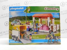 1 BOXED PLAYMOBIL COUNTRY FARM PLAY SET RRP £39
