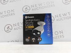 1 BOXED SWANN SWNHD-885MSFB 4K THERMAL SENSING SPOTLIGHT BULLET IP SECURITY CAMERA RRP £199