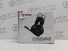 1 BOXED MSI DS502 TRUE GAMING HEADSET RRP £64.99