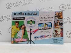 1 BOXED STUDIO CREATOR VIDEO MAKER RRP £29