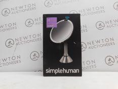 1 BOXED SIMPLE HUMAN 20CM SENSOR MIRROR RRP £179.99