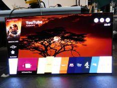 "1 BOXED LG 55"" OLED55B7V 4K OLED ULTRA HD HDR SMART TV WITH STAND RRP £1999 (SCREEN BURN MARKS"
