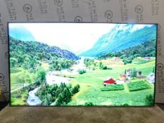 """1 HISENSE 65"""" H65A6500 4K ULTRA HD SMART TV WITH REMOT AND STAND RRP £649.99 (WORKING)"""