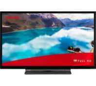 """1 BOXED TOSHIBA 32"""" 32LL3A63DB FULL HD SMART TV WITH STAND & REMOTE RRP £199 (WORKING)"""