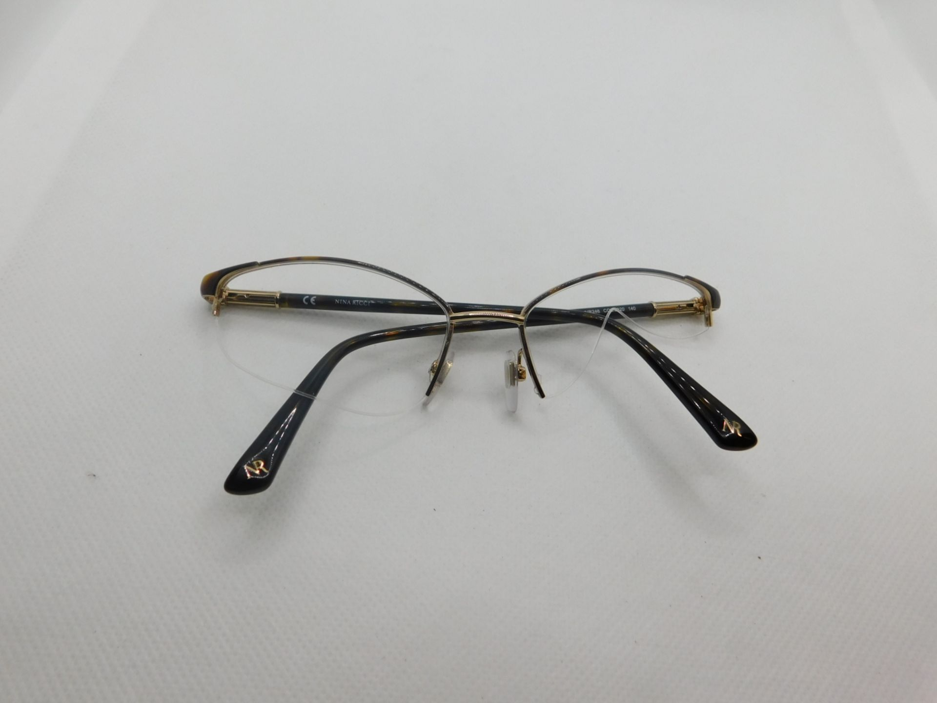 1 PAIR OF NINA RICCI FRAME WITH CASE MODEL VNR246 RRP £129