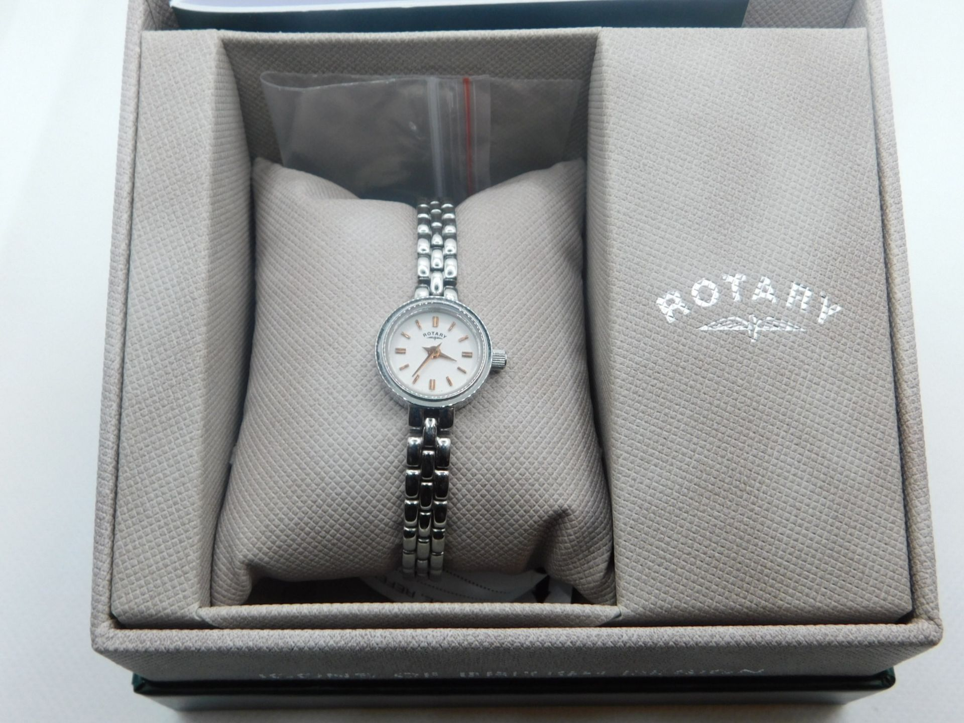 1 BOXED ROTARY BALMORAL LADIES WATCH MODEL LB02541/70 RRP £129.99