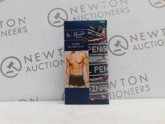 1 BOXED PENGUIN 4PK MENS BOXER BRIEFS SIZE XL RRP £29