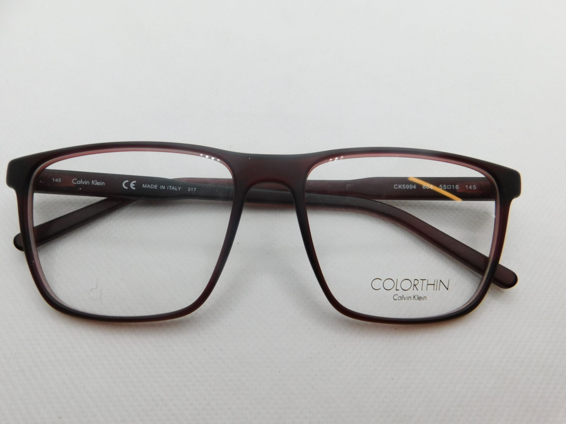 1 PAIR OF CALVIN KLEIN GLASSES FRAME WITH CASE MODEL CK5994 RRP £129.99