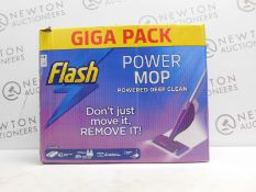1 BOXED FLASH POWER MOP WITH 32 PADS RRP £44.99