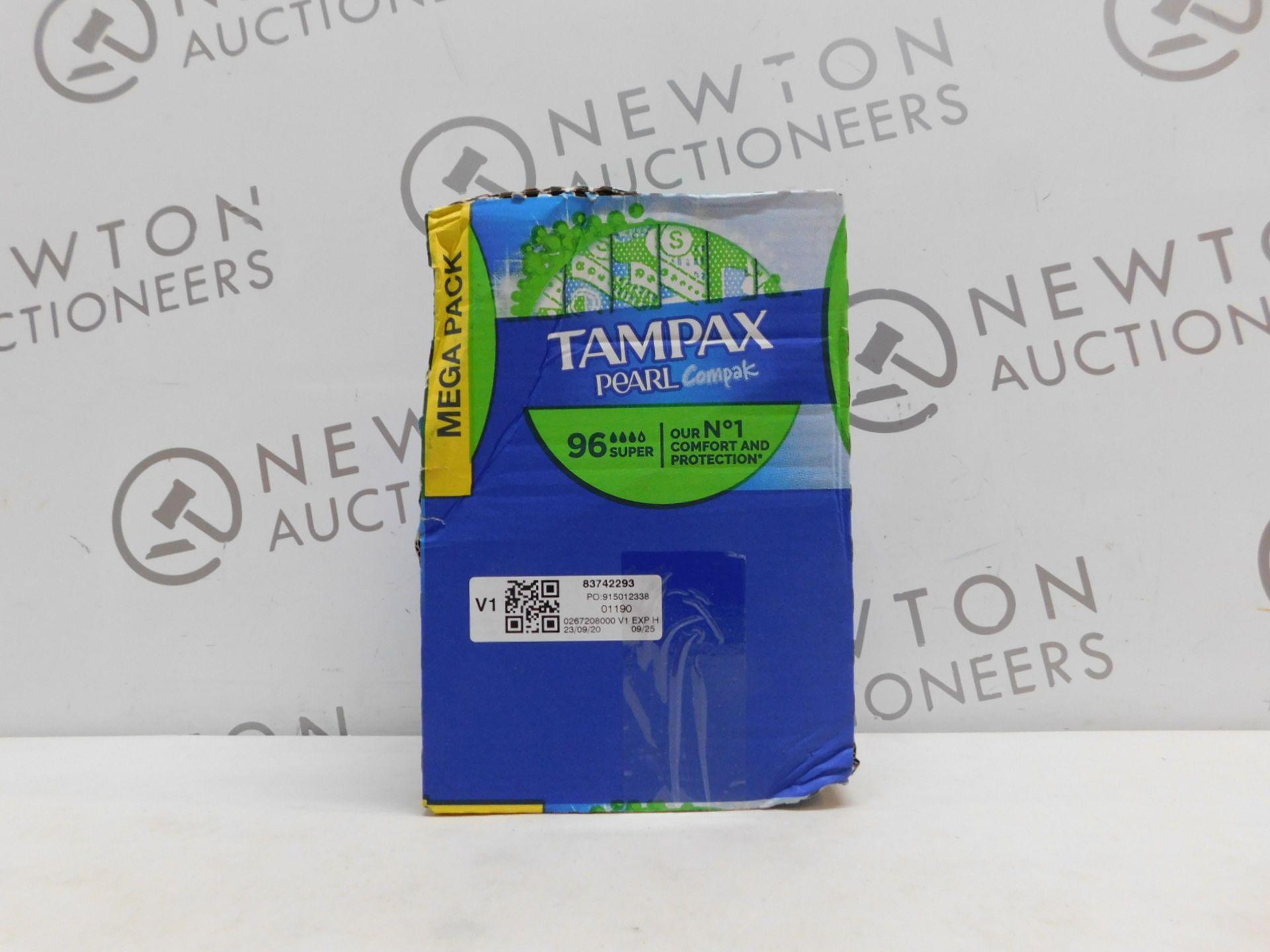 1 BOX OF TAMPAX COMPAK PEARL RRP £29.99