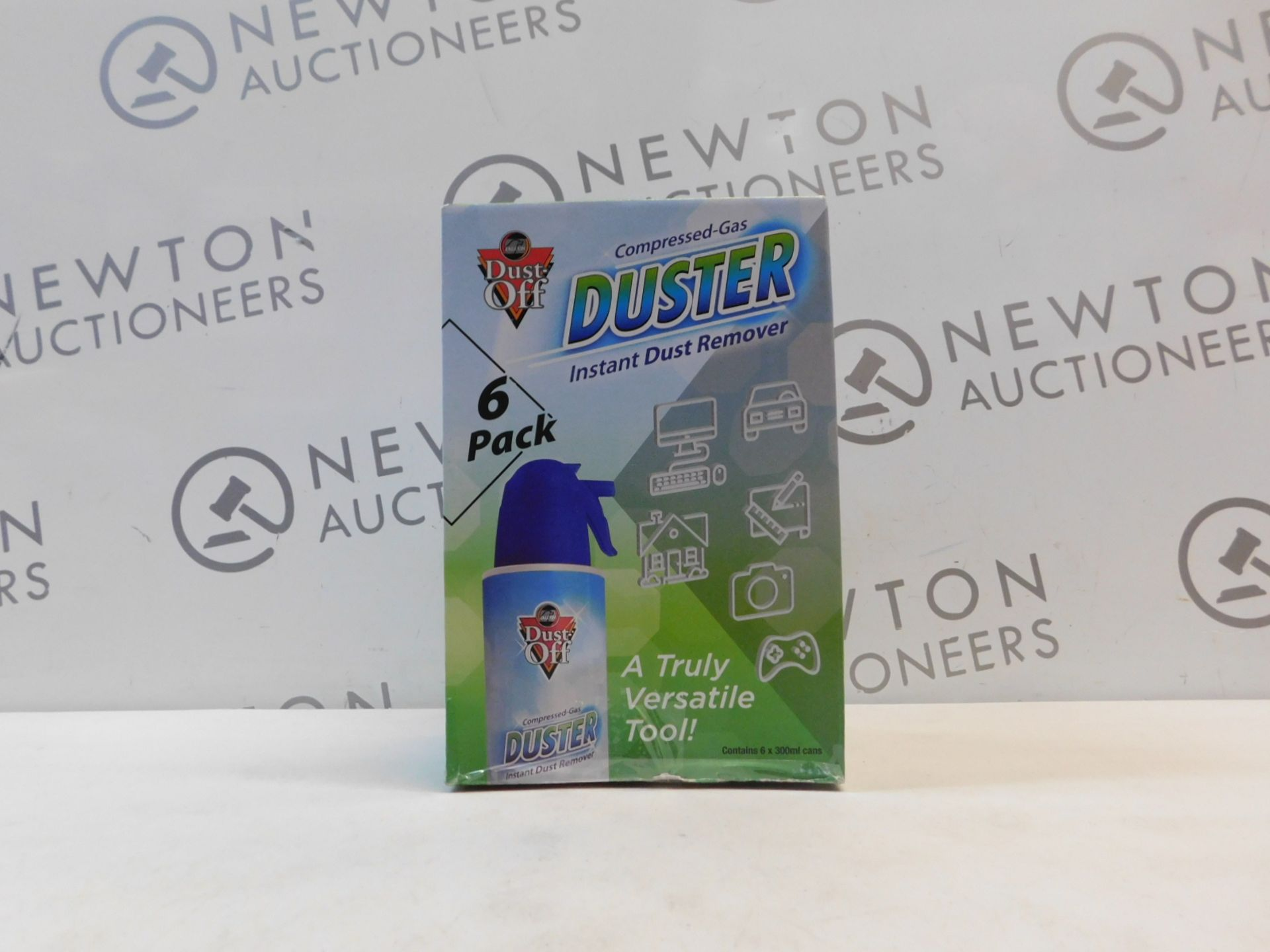 1 BOXED PACK OF 5 DUST OFF DUSTER SPRAY CANS RRP £35.99
