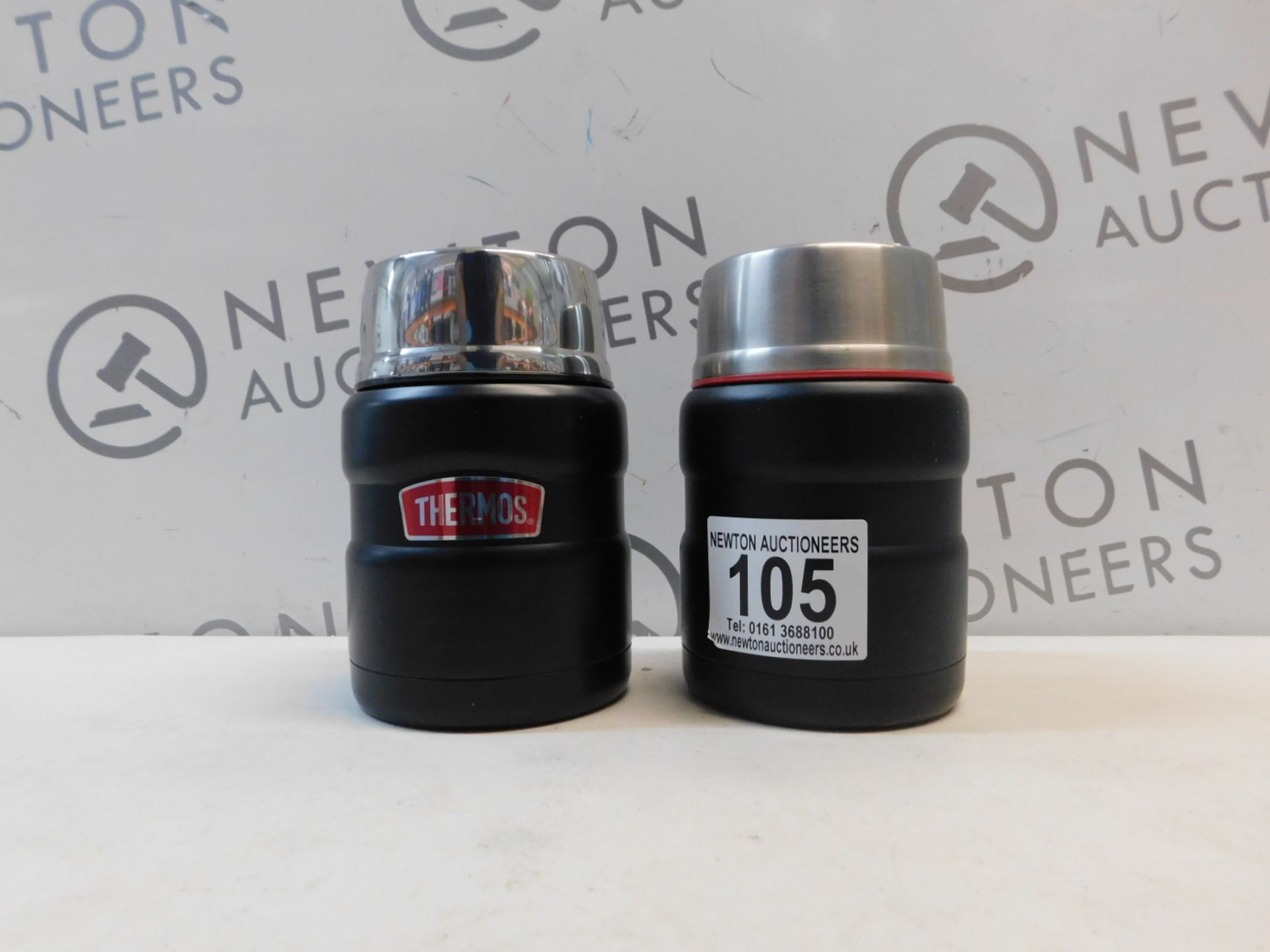 1 SET OF 2 THERMOS FOOD FLASKS RRP £19