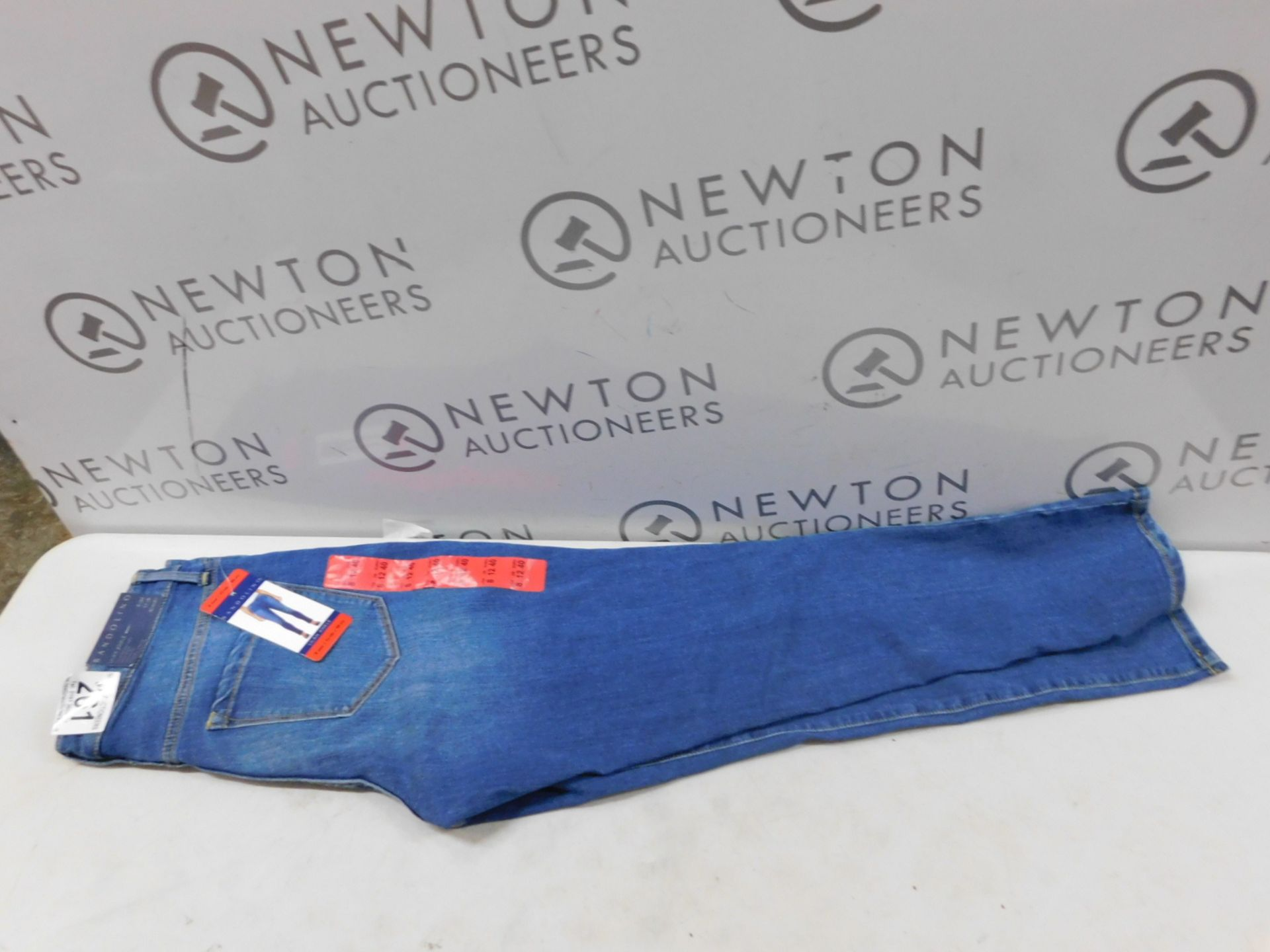1 WOMENS BANDOLINO JEANS LILAH ANKLE UK SIZE 12 RRP £39