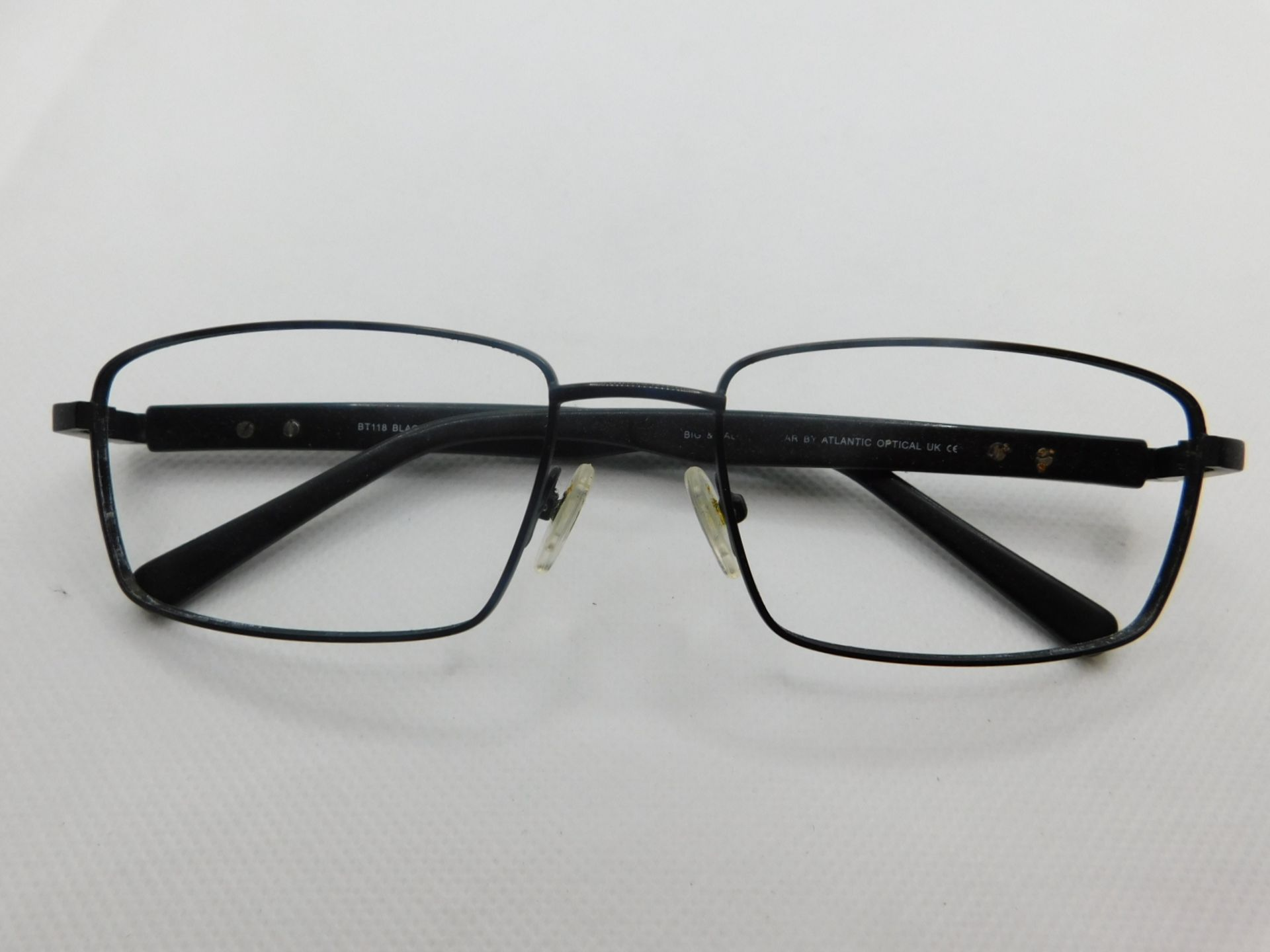 1 PAIR OF BIG AND TALL GLASSES FRAME WITH CASE MODEL BT118 RRP £79.99