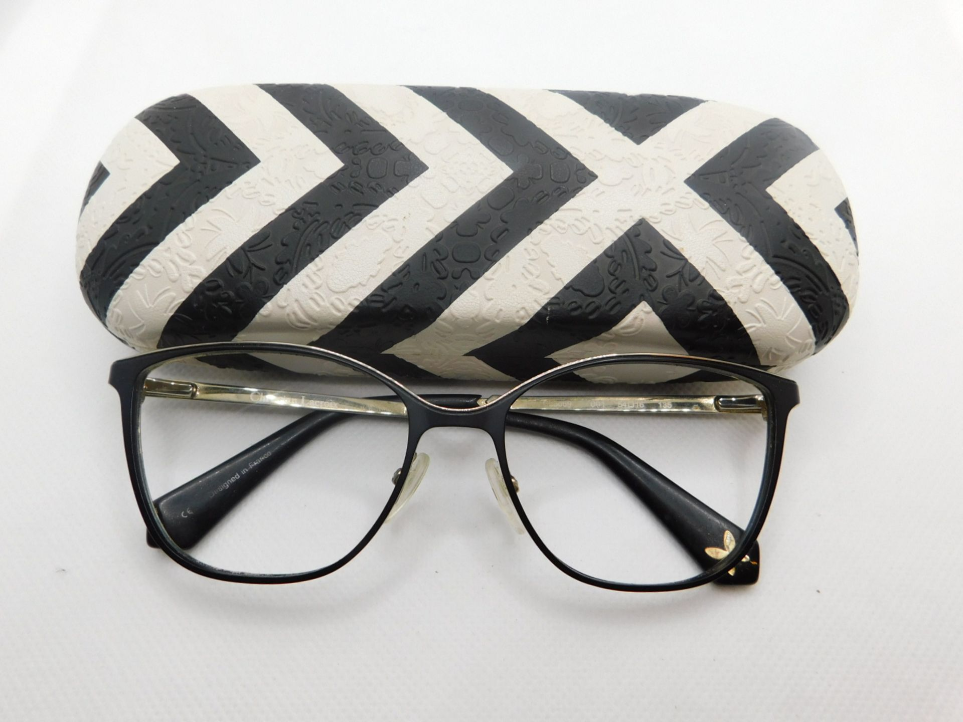 1 PAIR OF CHRISTIAN LACROIX GLASSES FRAME WITH CASE MODEL CL3059 RRP £159