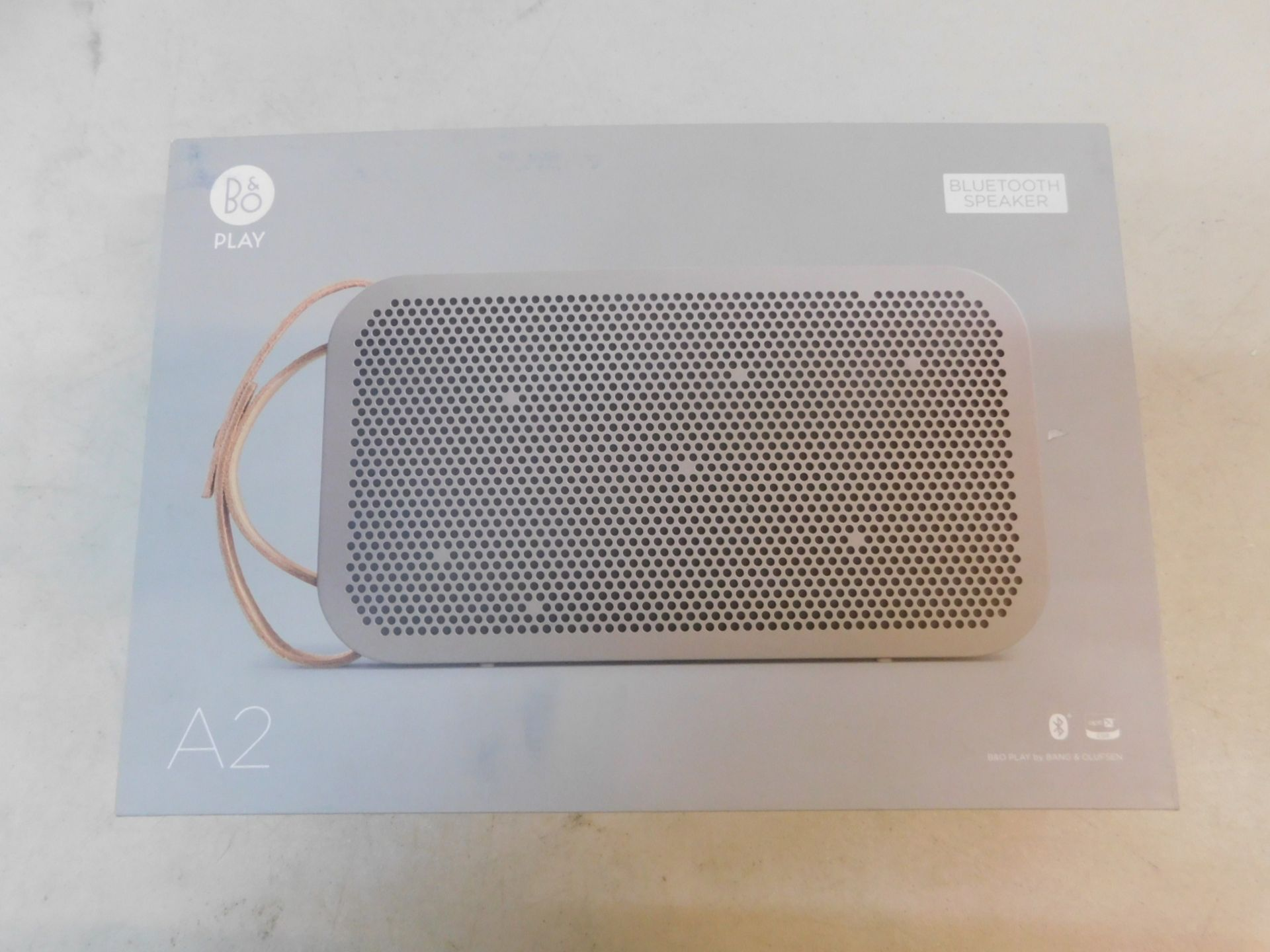 1 BOXED BANG AND OLUFSEN BEOPLAY A2 BLUETOOTH SPEAKER RRP £349