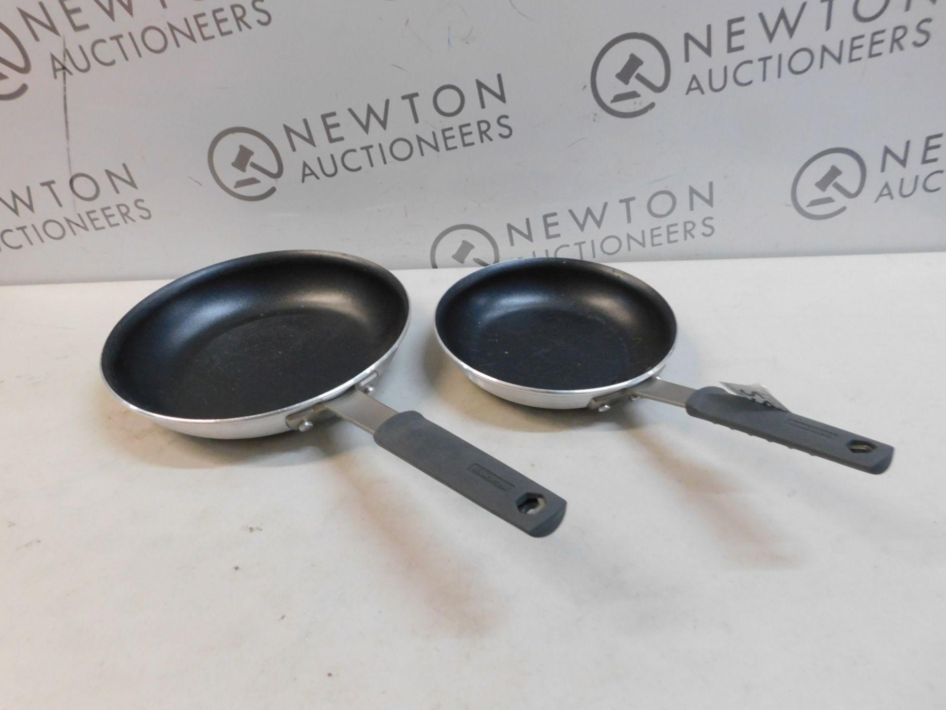 1 SET OF 2 TRAMONTINA FRYING PANS RRP £59