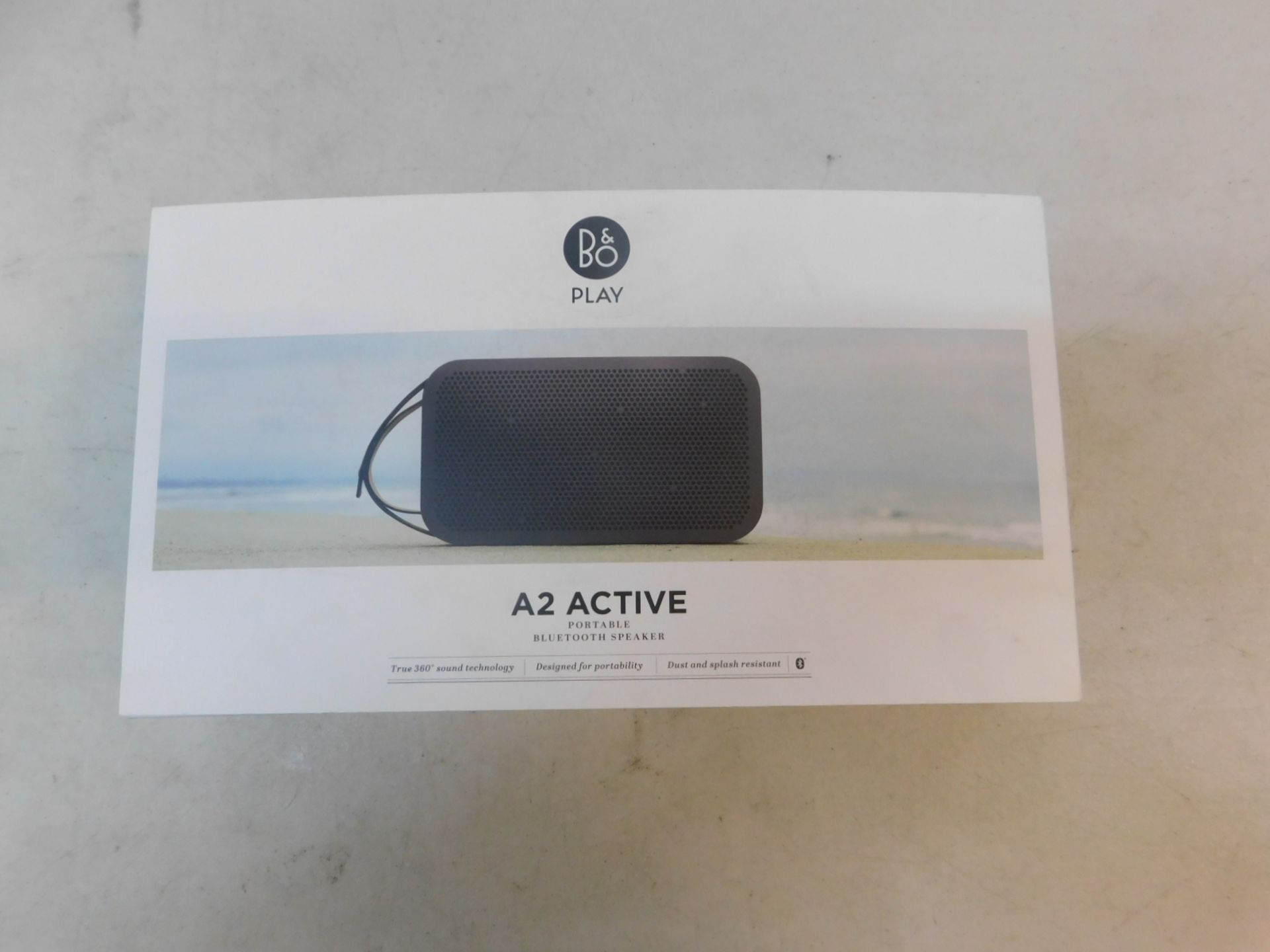 1 BOXED BANG AND OLUFSEN BEOPLAY A2 ACTIVE BLUETOOTH SPEAKER RRP £349