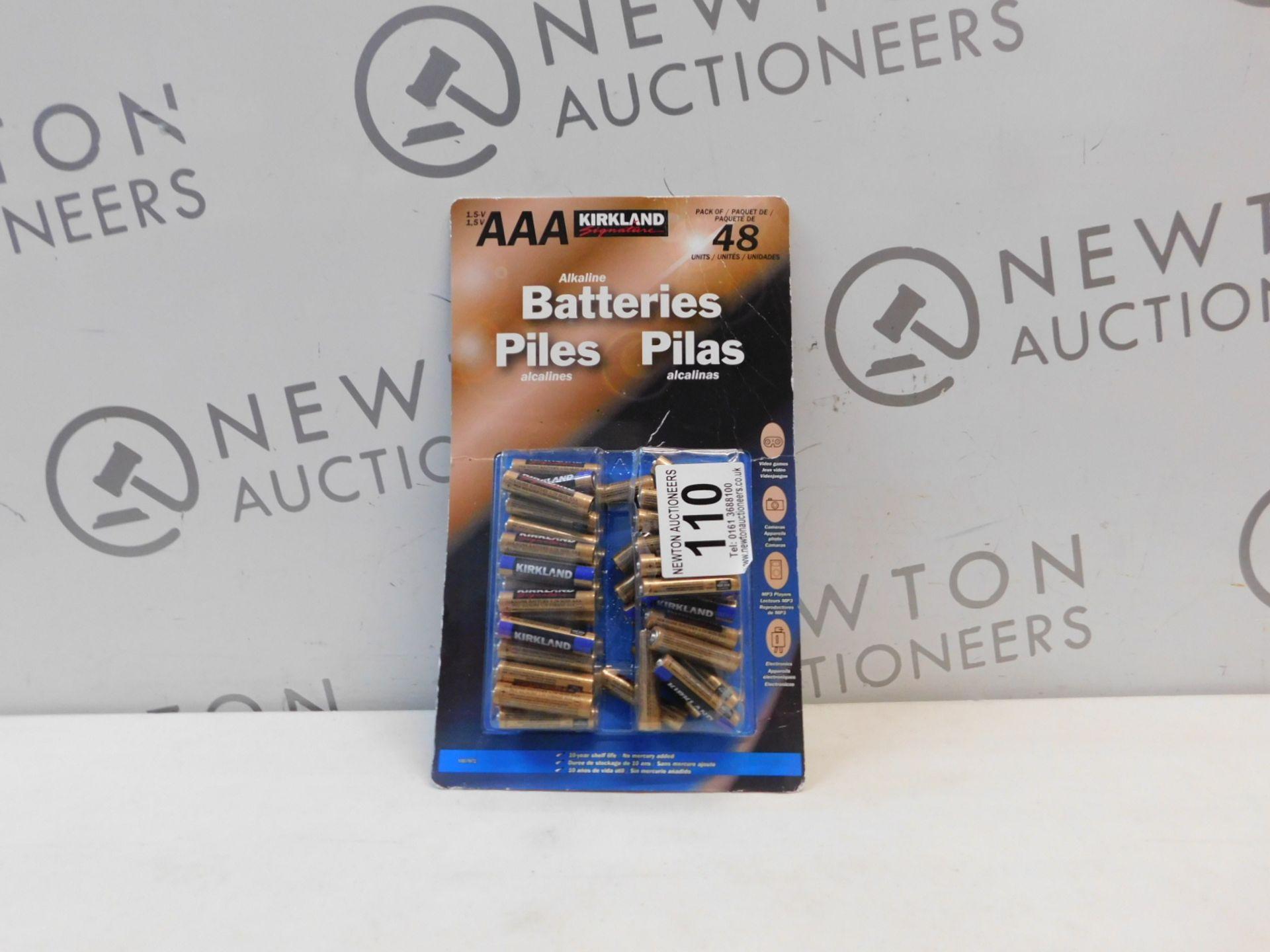 1 PACK OF 40 (APPROX) KIRKLAND SIGNATURE AAA 1.5V ALKALINE BATTERIES RRP £24.99