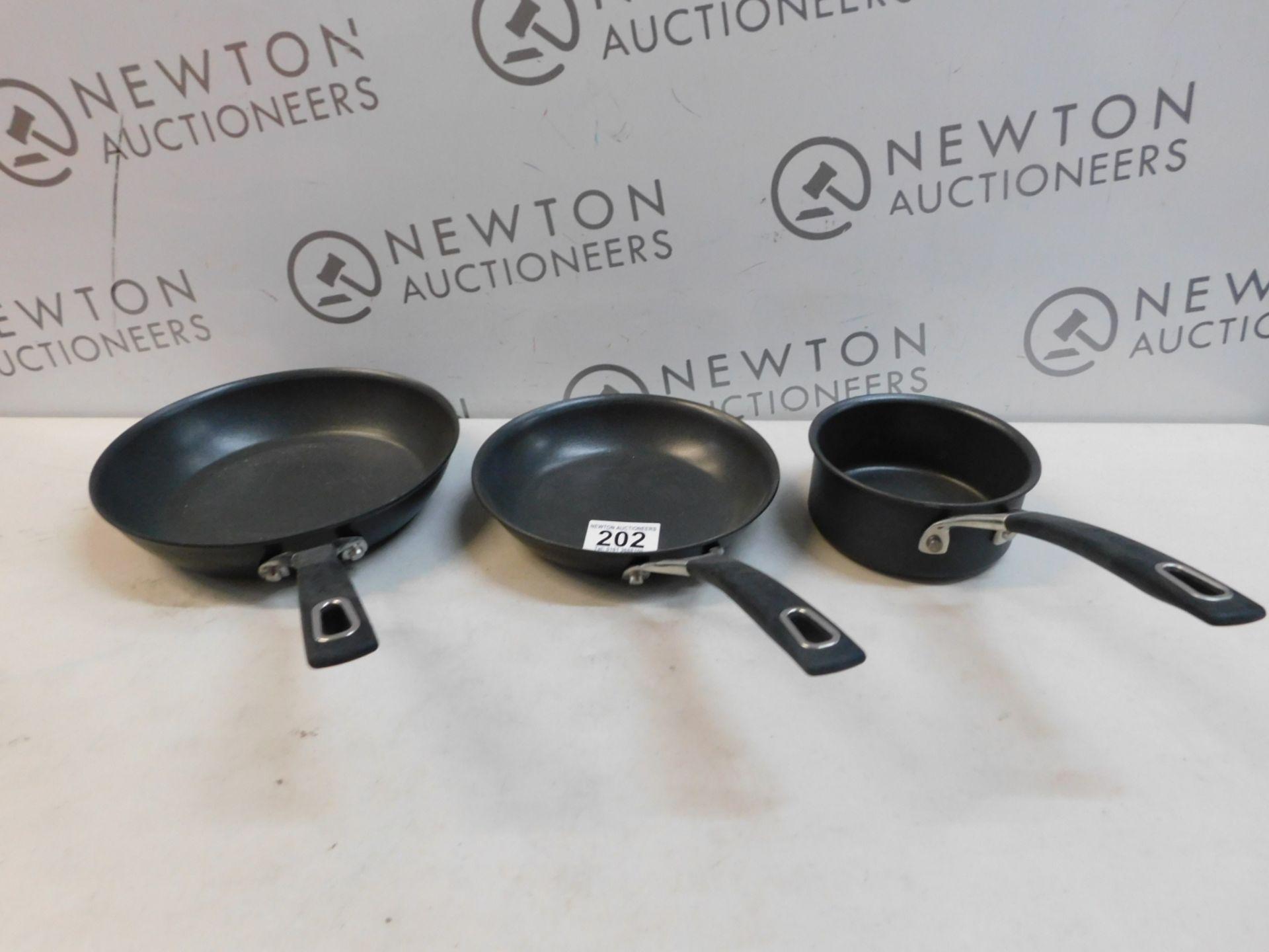1 SET OF 2 ANOLON FRYING PANS RRP £59