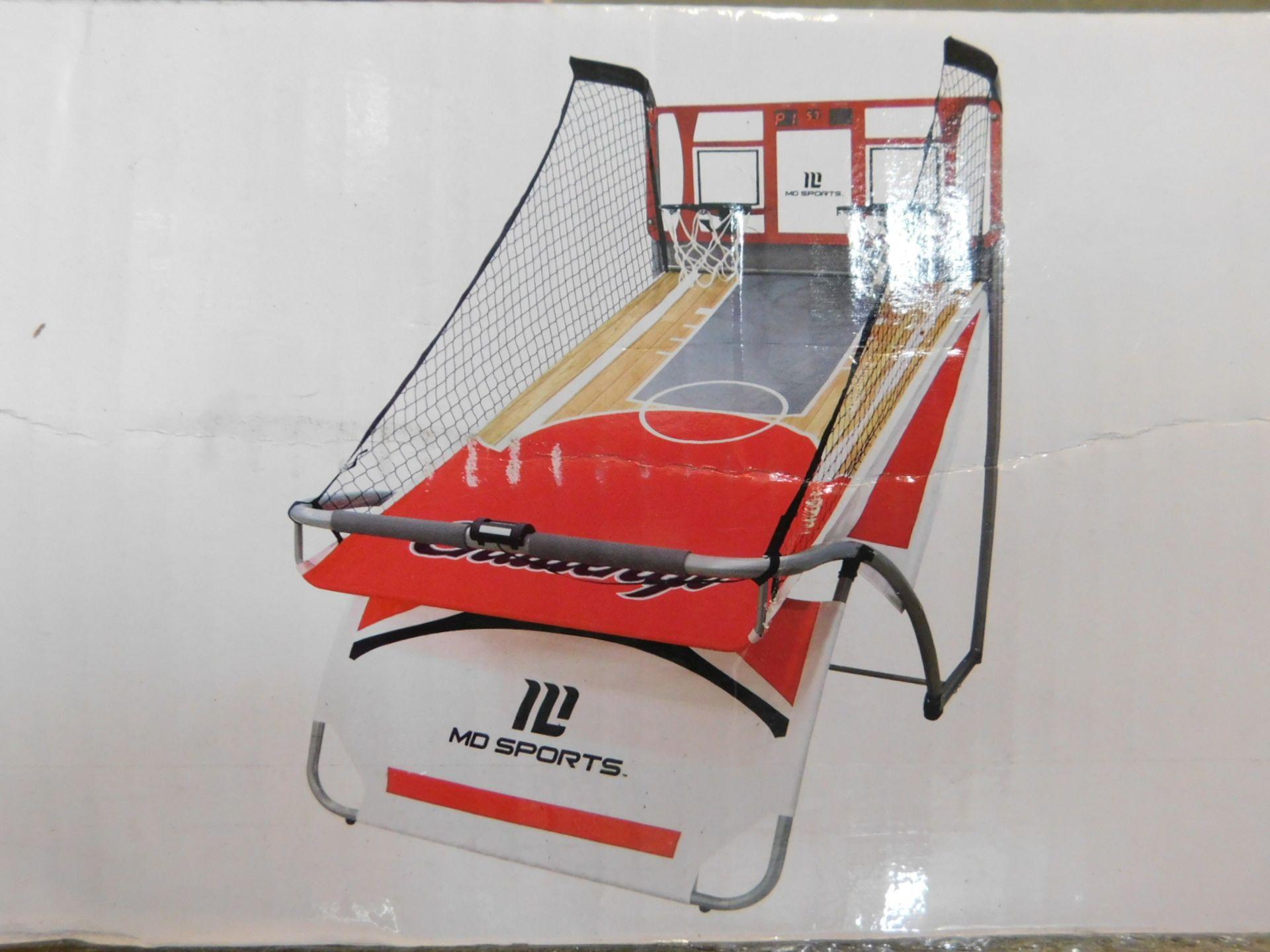 1 BOXED MD SPORTS EZ FOLD DUAL SHOT ARCADE BASKETBALL GAME RRP £179.99