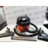 1 NUMATIC HVR200M HENRY MICRO VACUUM CLEANER WITH ACCESSORIES RRP £199.99