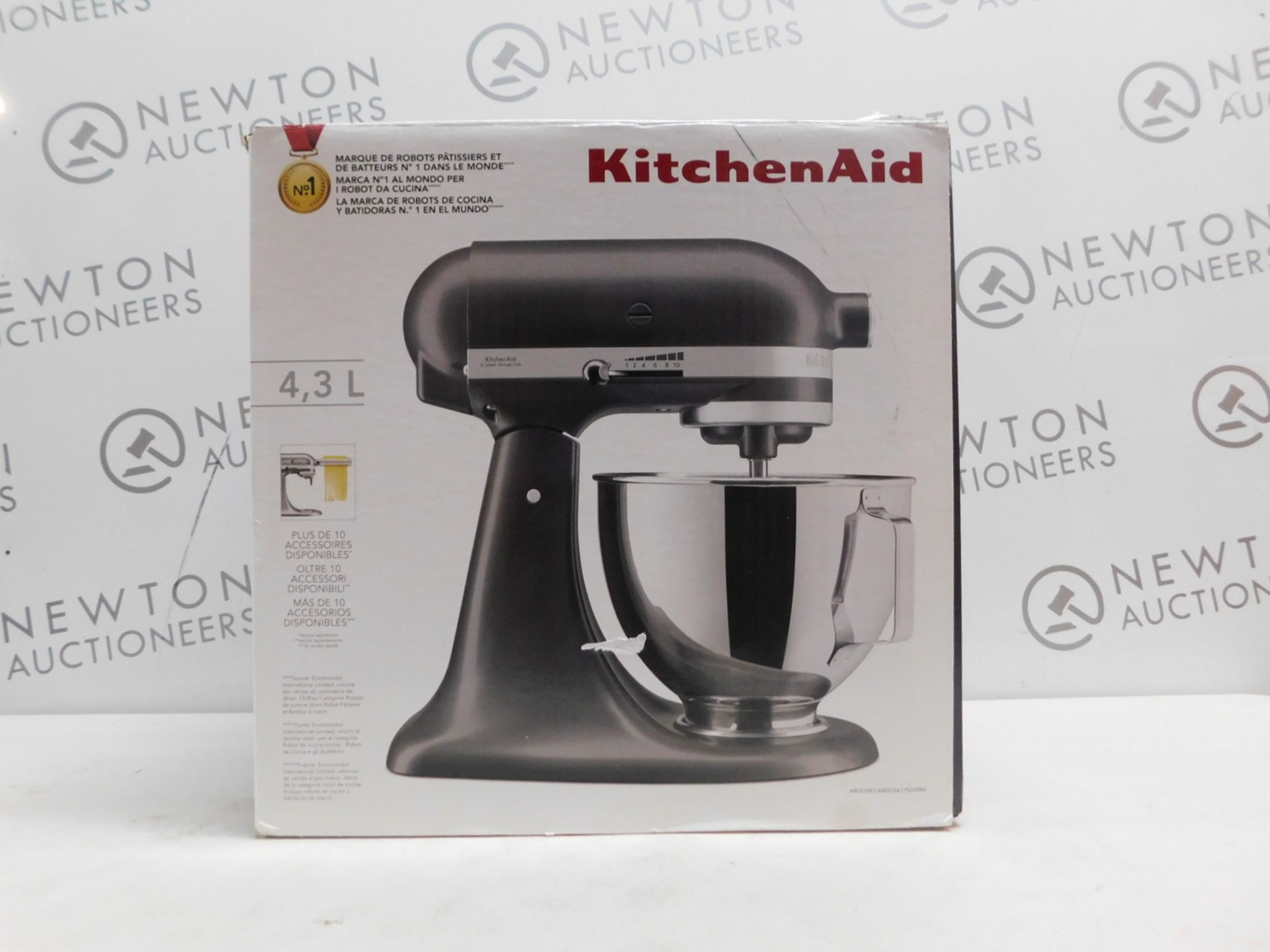 1 BOXED KITCHENAID 5KSM95 ELECTRIC MUTI-FUNCTION STAND MIXER WITH ACCESSORIES RRP £499 (WORKING, IN