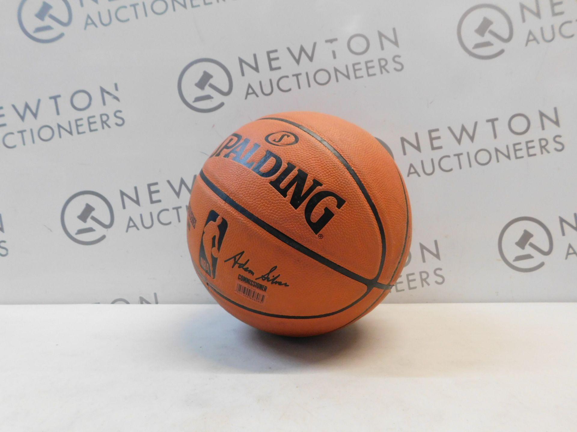 1 SPALDING SILVER SERIES NBA REPLICA BASKETBALL RRP £29.99