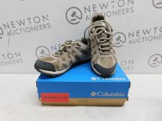 1 BOXED PAIR OF WOMENS COLUMBIA REDCREST WATERPROOF SHOES UK SIZE 7 RRP £79
