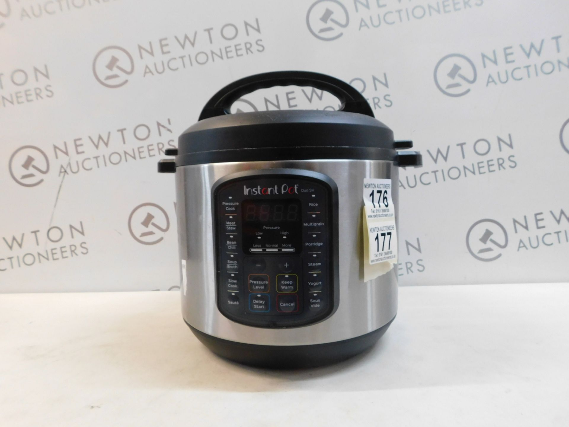 1 INSTANT POT DUO SV 9 IN 1 ELECTRIC PRESSURE COOKER 5.7L RRP £115