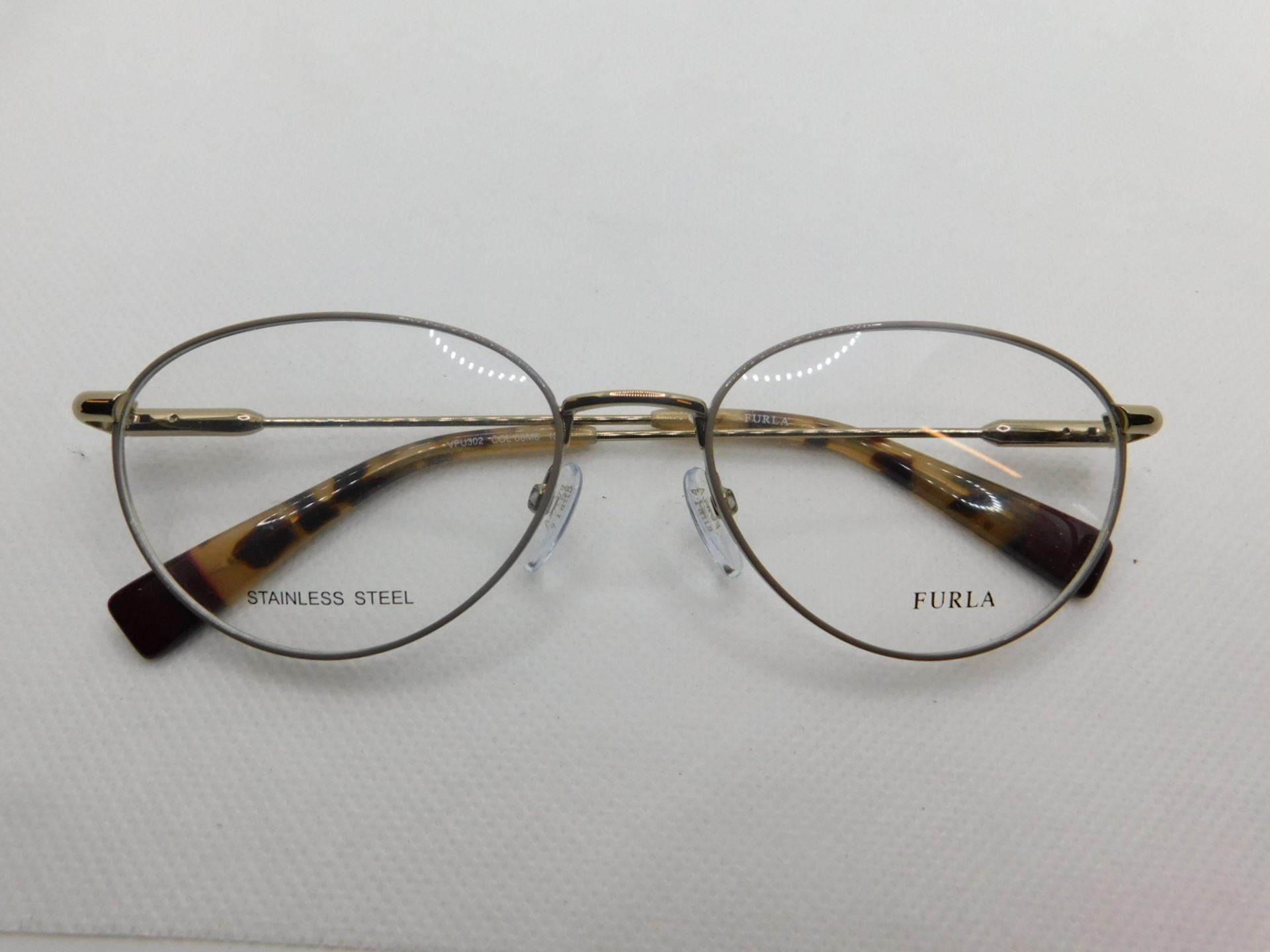 1 PAIR OF FURLA GLASSES FRAME MODEL VFU302 RRP £99.99