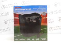 1 BOXED ION TAILGATER PLUS WIRELESS RECHARGEABLE PORTABLE SPEAKER SYSTEM RRP £129