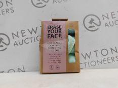 1 BOXED DANIELLE: ERASE YOUR FACE ECO MAKEUP REMOVING CLOTHS RRP 15.99