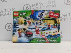 1 BOXED LEGO 60268 ADVENT CALENDAR RRP £29