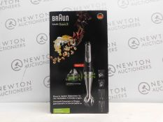 1 BOXED BRAUN MULTI-QUICK 9 MQ9087X HAND BLENDER WITH ACCESSORIES RRP £149.99