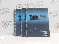 1 SET OF 5 A4 PUKKA PAD JOTTA 200 PAGES 80GSM RRP £19