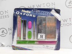 1 PACK OF HELIX OXFORD PREMIUM MATHS STATIONARY SET RRP £24.99