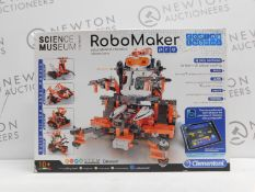 1 BOXED CLEMENTONI SCIENCE MUSEUM APPROVED ROBOMAKER PRO EDUCATIONAL ROBOTICS LABORATORY RRP £49.