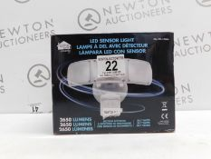 1 BOXED HOME ZONE SECURITY LED SENSOR LIGHT 2650 LUMENS RRP £49.99