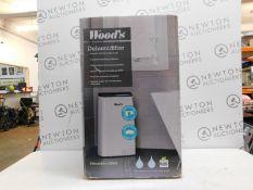 1 BOXED WOODS MDK26 HOME DEHUMIDIFIER 230V 25 LITRES RRP £399