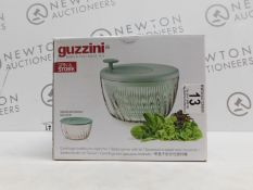 1 BOXED GUZZINI SALAD SPINNER SPIN & STORE RRP £29