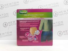 1 BOXED 50 (APPROX) DEPEND UNDERWEAR DRY 8 FOR WOMEN SIZE L RRP£44.99