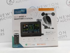1 BOXED LA CROSSE TECHNOLOGY WI-FI WIND PLUS WEATHER STATION RRP £99.99