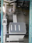1 BOXED CARRARA METAL 3 DRAWER MOBILE FILE CABINET RRP £199
