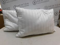 1 PAIR OF HOTEL GRAND DOUBLE TOP GOOSE FEATHER & GOOSE DOWN PILLOWS RRP £49.99