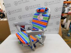 1 TOMMY BAHAMA KIDS BACKPACK BEACH CHAIR WITH CUP HOLDER RRP £44.99