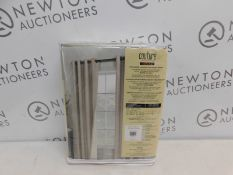 1 PACKED COUTURE THERMAPLUS LUXURY BLACKOUT CURTAIN RRP £49.99