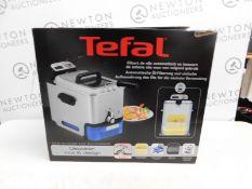 1 BOXED TEFAL FR8040 OLEOCLEAN PRO INOX & DESIGN DEEP FRYER RRP £129.99